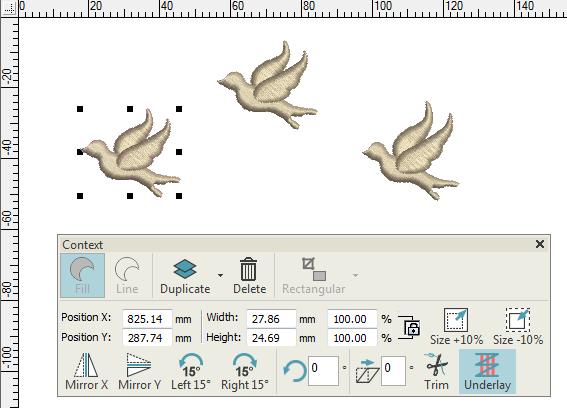 Réorganiser des objets - DigitizerJr V5