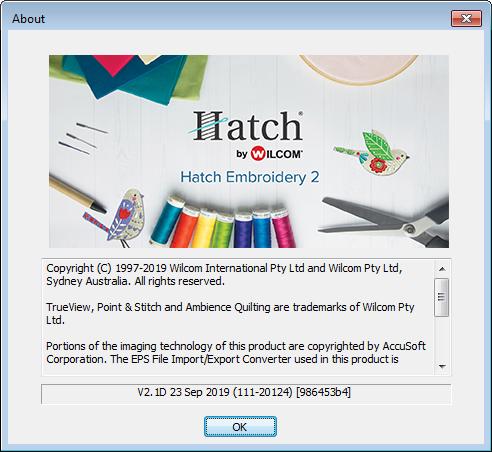 Hatch Embroidery 2 1 Update Hatch
