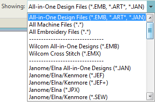 Supported Embroidery Files Hatch 1 0