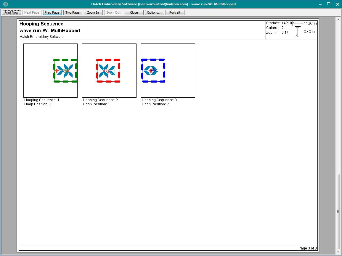 Imprimir diseños - Hatch 1.0